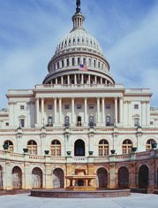 US Capitol, Professional Lobbyists in Washington, DC